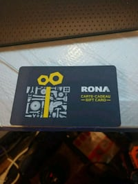 Rona Gift Card $500 on it for 400 cash Calgary, T2M 0N4