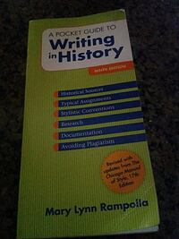A pocket guide to writing in history  Visalia, 93291