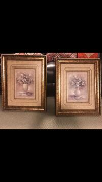 Two brown wooden framed wall decors Brampton, L6P 1S7