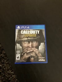 Call of duty ww2 ps4 excellent condition  Cambridge, N1R