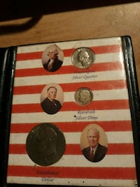 two round silver coin collection Anaheim, 92804