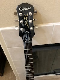 black and white electric guitar Irvine, 92603