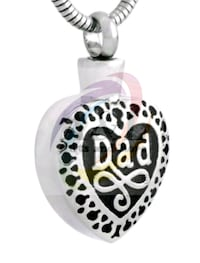 Cremation Necklace-Dad London, N5W 3P3