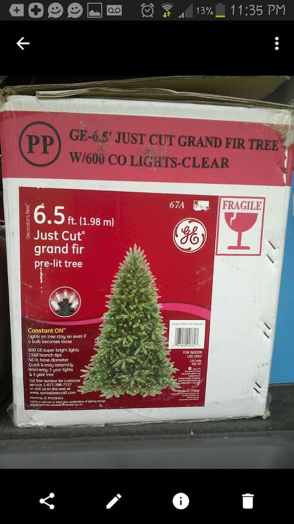 ... pre-lit Christmas tree. HomeOther used items in New York Other used items in Buffalo
