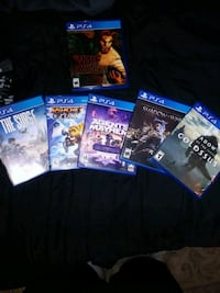 ps4 games 20$ EACH!!! Bakersfield, 93313