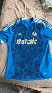Marseille home soccer jersey large McLean, 22101
