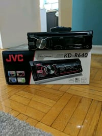 JVC KD-R640 Car Stereo Reciever with remote  Mississauga, L5J 3T4