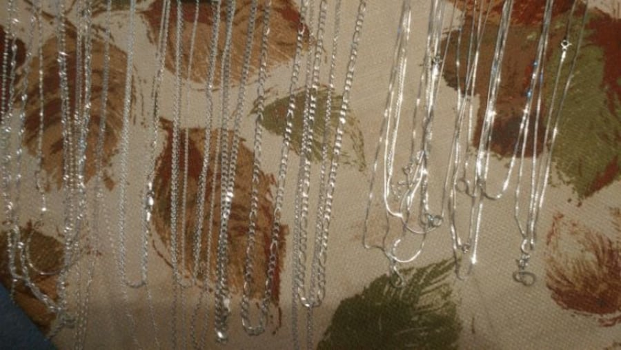 .925 Sterling Silver necklaces 1