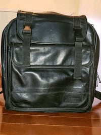 Targus Backpack black leather Kirkland, H9J 2J4