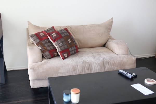Large couch and loveseat in excellent condition