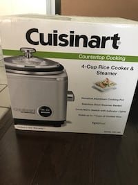 Cuisinart 4-cup rice cooker  Markham, L3P 6A7