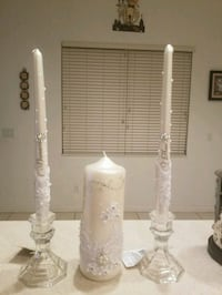 Personalize unity candle Port St. Lucie, 34953
