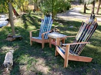 Ski chairs with side table Idledale, 80453