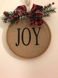 "8"" Joy holiday decor Essex, 21221"