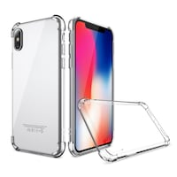 Brand new Iphone X Transparent crystal clear protective bumper case Surrey