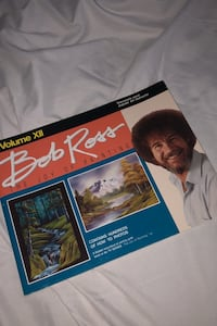 Bob Ross how to paint book