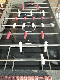 black and red foosball table Arvada, 80003