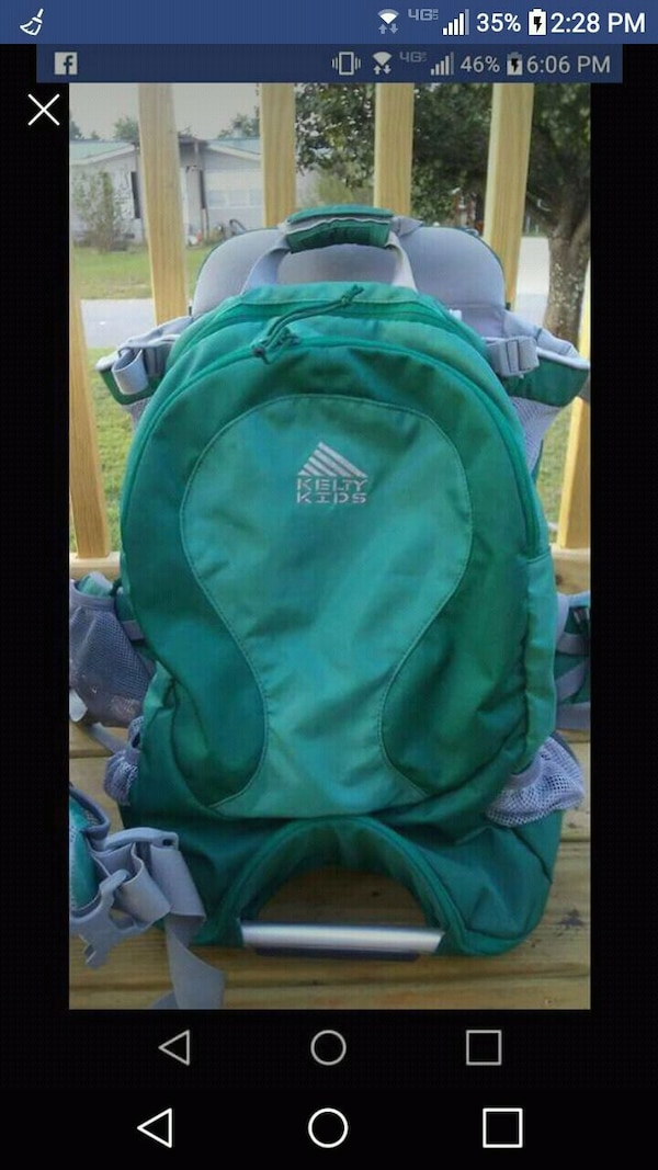 9a9dac7cf87 Used (2) Kelty Junction 2.0 Child Hiking Bags for sale in Byron - letgo