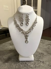 Negotiable new necklace jewelry set (#02)