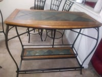 Table/Bar Table 4 chairs 2 stools Laurel, 20708