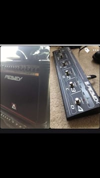 Peavy effects amp with switch board  Sacramento, 95831