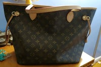 black and brown Louis Vuitton monogram leather handbag Hempstead, 11550