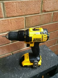 Dewalt power drill with battery and without charge Potomac, 20854