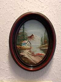 Small Original Oil Painting In Frame Charleston, 29414