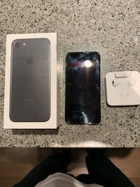iPhone 7, Black, 32GB pick up Coquitlam, V3B 0J5