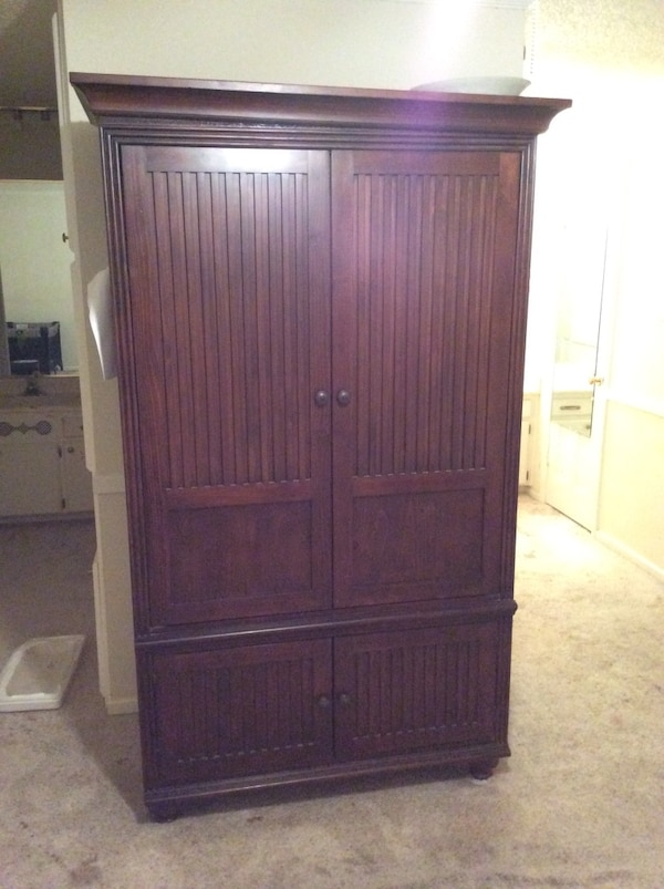 Dark Wood Armoire Big Price Reduced