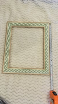 rectangular green and brown photo frame Seattle, 98104