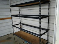 black steel storage rack Leesburg, 35983