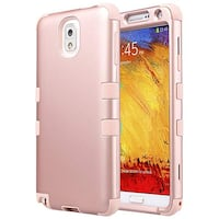ULAK Galaxy Note 3 Case, Note 3 Case Knox Armor 3 in 1 PC+Silicone Hybrid Dust Scratch Resistance Anti-slip Cover for Samsung Galaxy Note 3 Lyndon