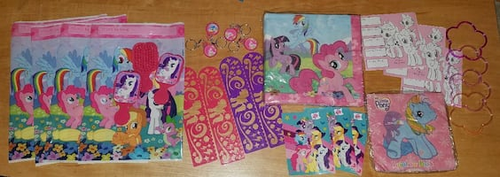 My Little Pony Party Stuff!!