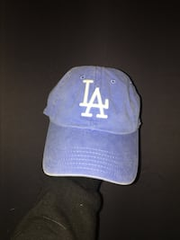blue and white Los Angeles fitted cap Logan, 84341