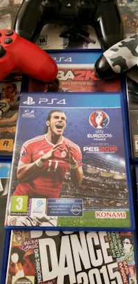 PS4 PES 2016 Euro Cup