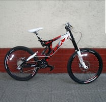 New specialized mountain bike full suspension hydr