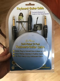 Unopened Keyboard-Guitar Cable  Summit, 53066