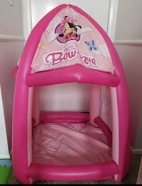 pink and purple Disney Princess themed bed frame Los Angeles County, 91387