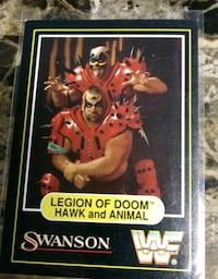 "Swanson ""Legion of Doom"" card."
