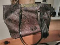 915d6a005e38 Used red pebble leather tote bag for sale in Menifee - letgo