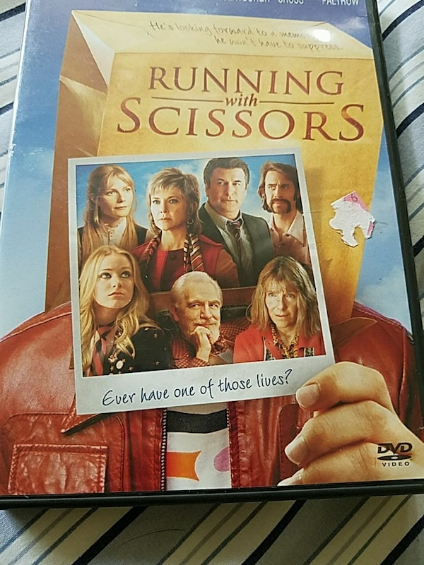 Used Running With Scissors Dvd Case For Sale In Kensington Letgo