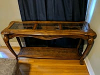 Antique Glass top Serving/Couch table Long Beach, 90803