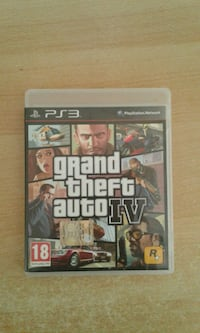 Custodia Grand Theft Auto IV per PS3 Novara, 28100