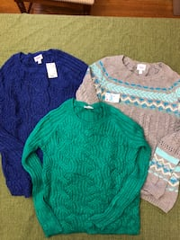 Lot 3 Justice Girls Sweaters Size 12 Greenwood, 46142