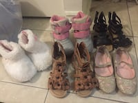 Toddler size 5,6 shoes lot Brampton, L6R