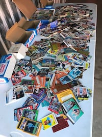 Large Lot of Sports Cards