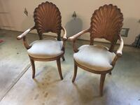 2 Classic Arm Chairs Danville