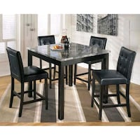 5-PC Counter Height Square Table Dining Set Toronto, M1V 5L4