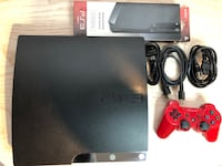 PS3 160gb plus all Connections, 1 Controller and 19 Games Maple Ridge, V2X 3W1